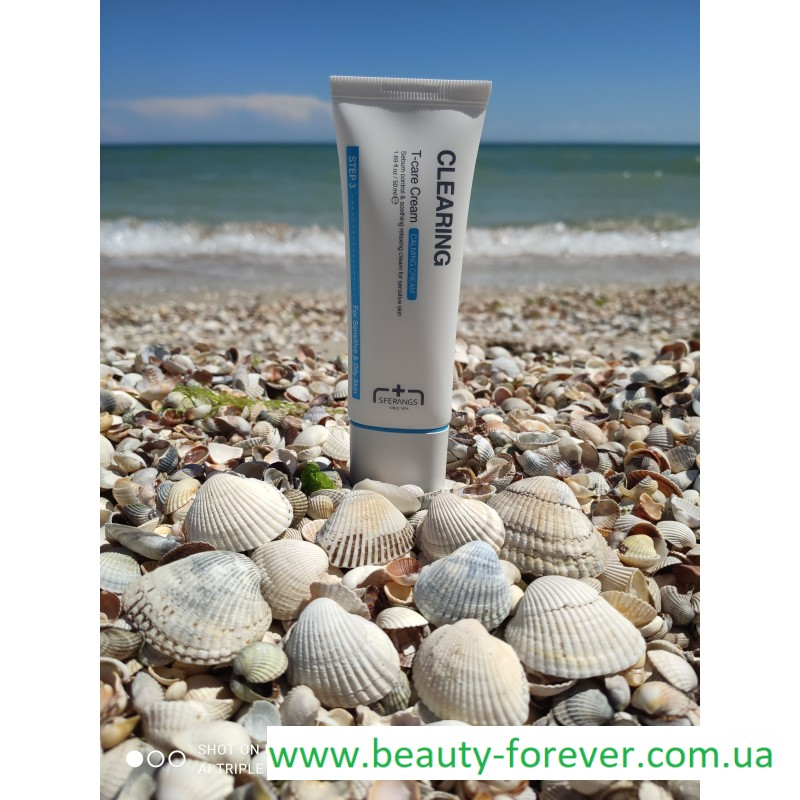 Регулирующий и увлажняющий  крем Clearing Т-Care Cream 50ml