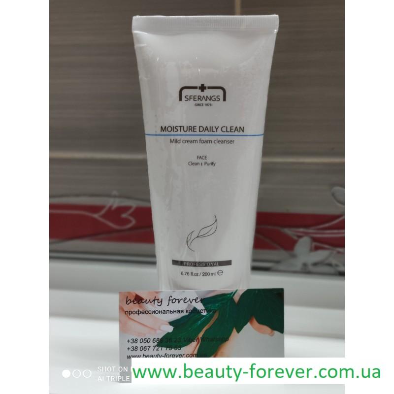 Увлажняющее очищающее средство Moisture Daily Clean 200ml