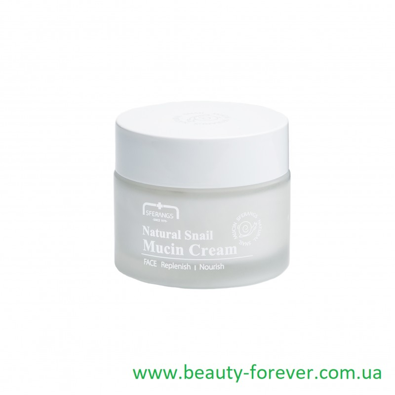 Крем с  улиточным муцином Natural Snail Mucin Cream