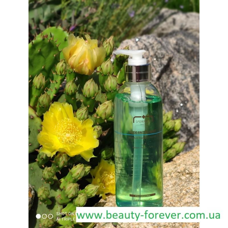 Очищающий гель с Алоэ для всех типов кожи Aloe Facial Whip 250ml