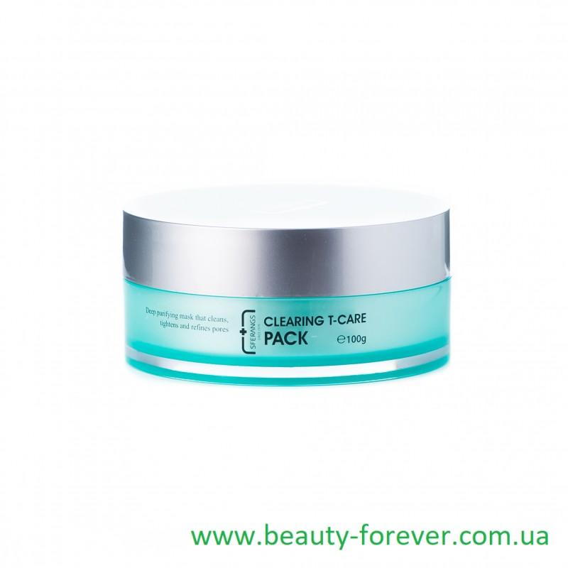 Регулирующая и очищающая крем-маска Clearing Т-care Pack